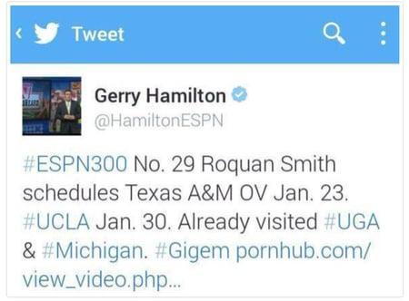 gerry hamilton social media fail