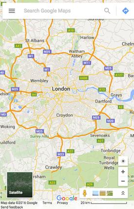 Google Maps Great Mobile Website Design