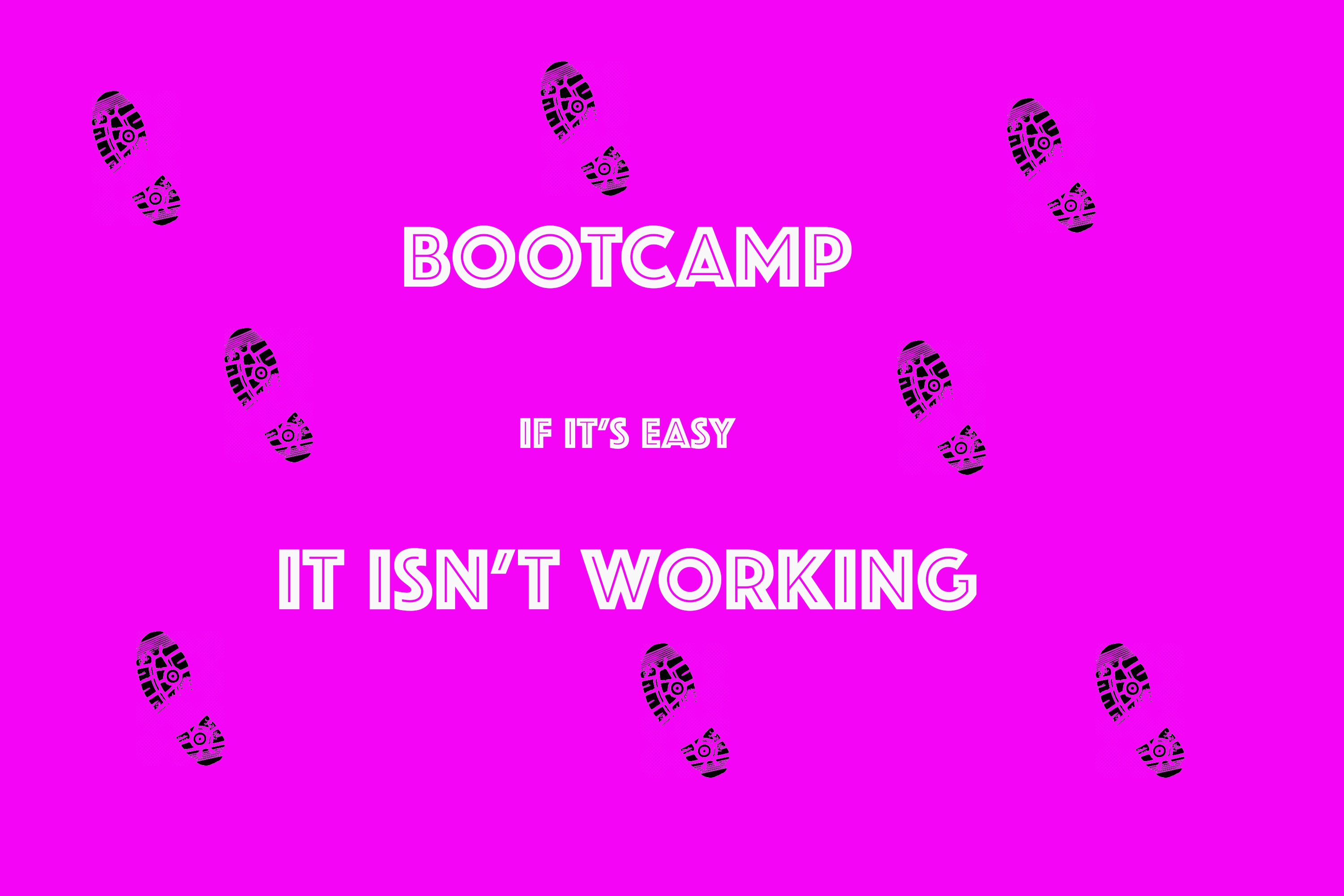 Cycling, Phone Calls and Bootcamps